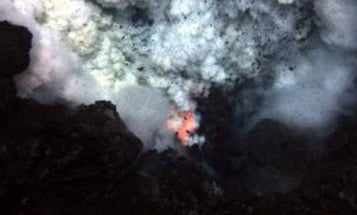 Video: Furious Eruption of Deepest Known Undersea Volcano