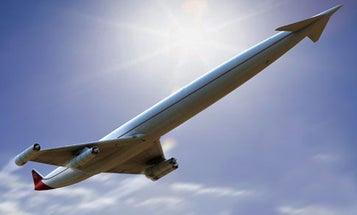 Green Skies at  Mach 5