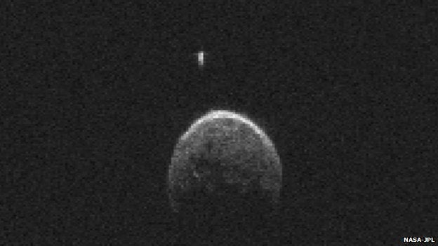 The Asteroid That Flew By Earth Yesterday Had A Moon