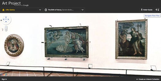 Google's Art Project is Street View for the World's Greatest Art Museums