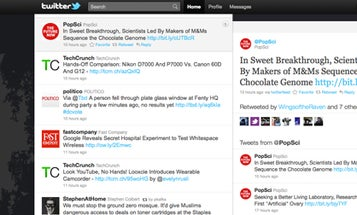 Twitter Gets a New Look, A More App-Like Interface