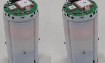 Parachuting Canister Detects Chemical Weapons