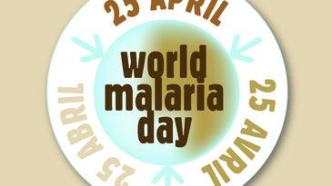 World Malaria Day logo