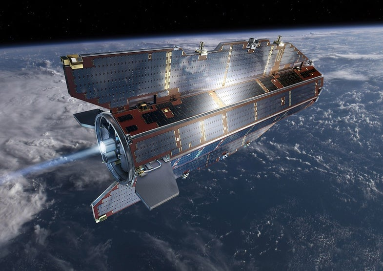One-Ton GOCE Satellite Plummets Into Atlantic Ocean