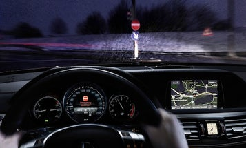 Mercedes' New Safety Tech Aims To End Wrong-Way Driving