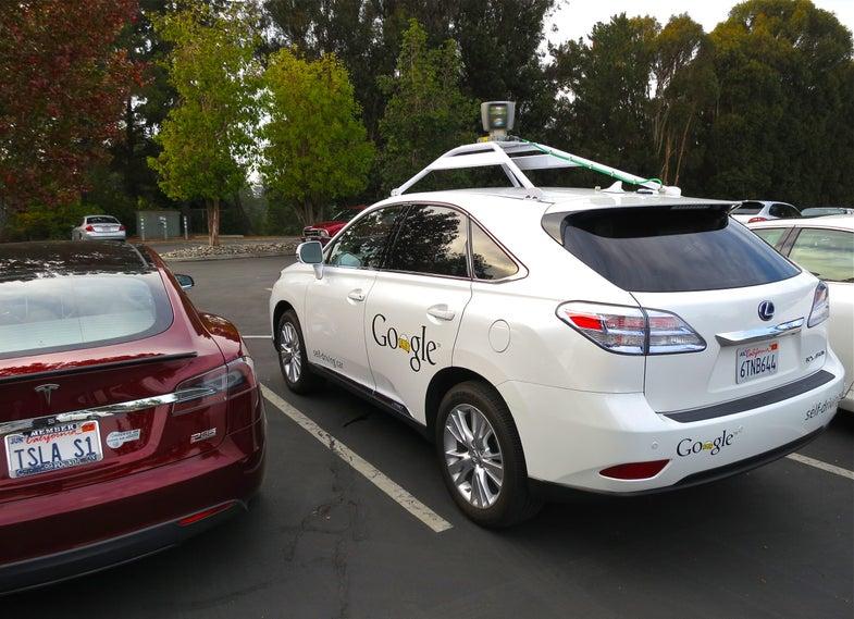 "Google Testing Its Self-Driving Cars In A Complete Virtual ""Matrix California"""