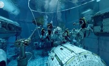 Astronaut Hopefuls Can Tour NASA's Spacewalk Training Facility Using VR
