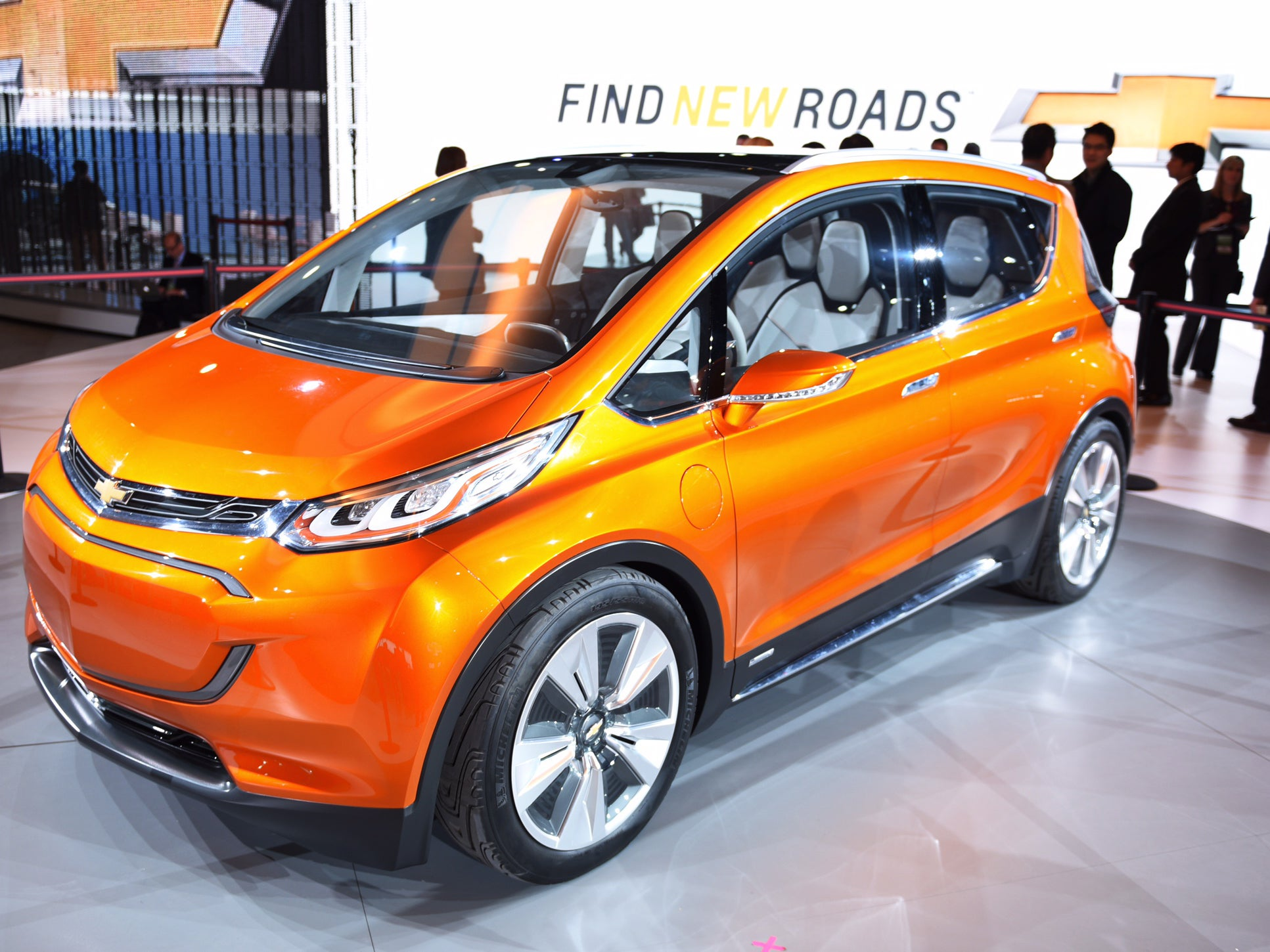 A look at the new Chevrolet Bolt