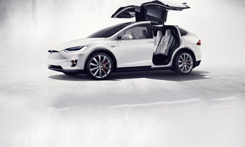 Tesla Launches Its Electric SUV, The Model X