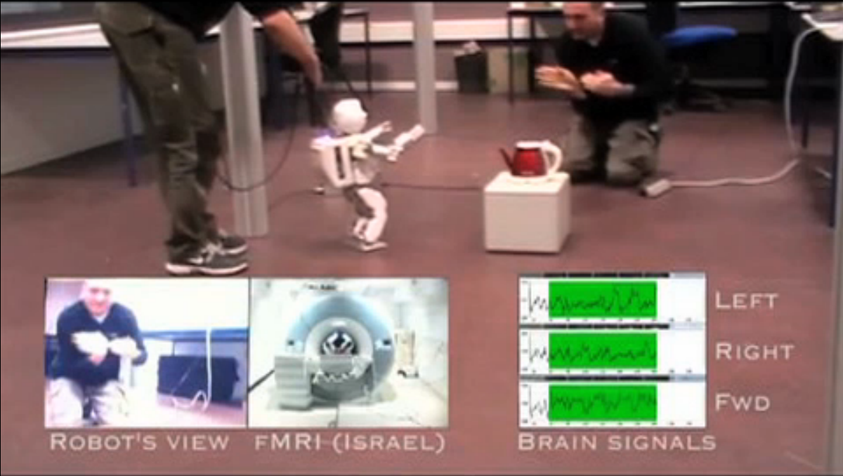 Israeli Man Controls Robot Thousands of Miles Away With Just His Brain