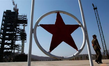 After Much Fanfare, North Korea Launches Rocket, Which Falls Apart