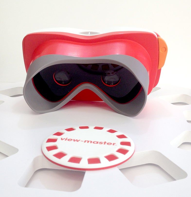 Mattel and Google make View-Master Virtual Reality