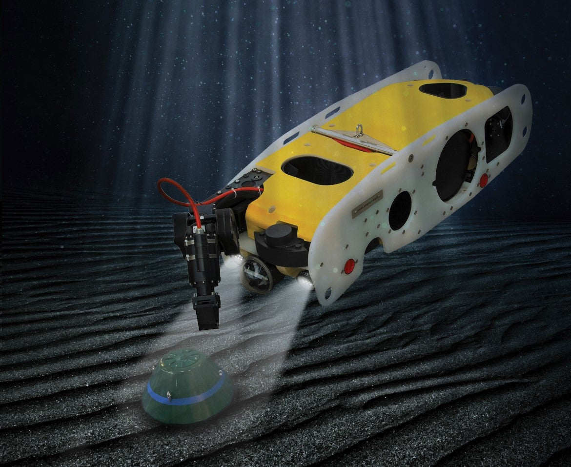 Saab's Underwater Drone Will Hunt For Aquatic Explosives