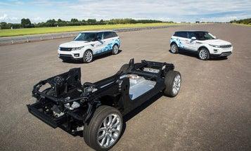 Jaguar Land Rover's Future Electric-Car, Efficiency Concepts Previewed