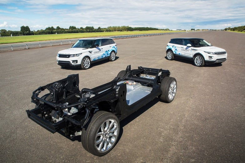 hydrogen fuel-cell powertrains promoted by Toyota