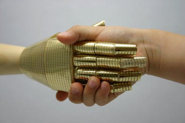 Making Skin for Robots