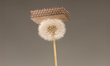 Invented: World's Lightest Material, 99.99 Percent Air