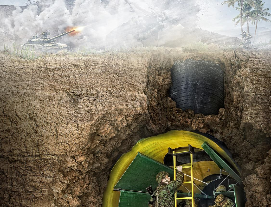 Estonia Is Making Modular Bomb Shelters