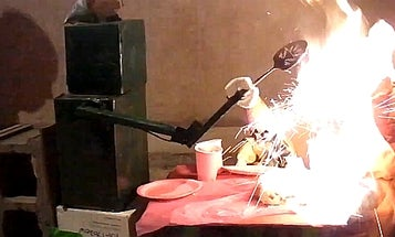Video: A Contest For The Most Spectacularly Self-Destructive Robots