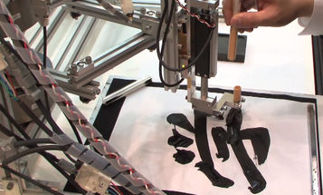 Learn Japanese Calligraphy From A Robot
