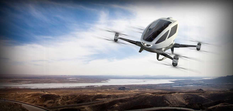 Ehang 184 passenger drone China