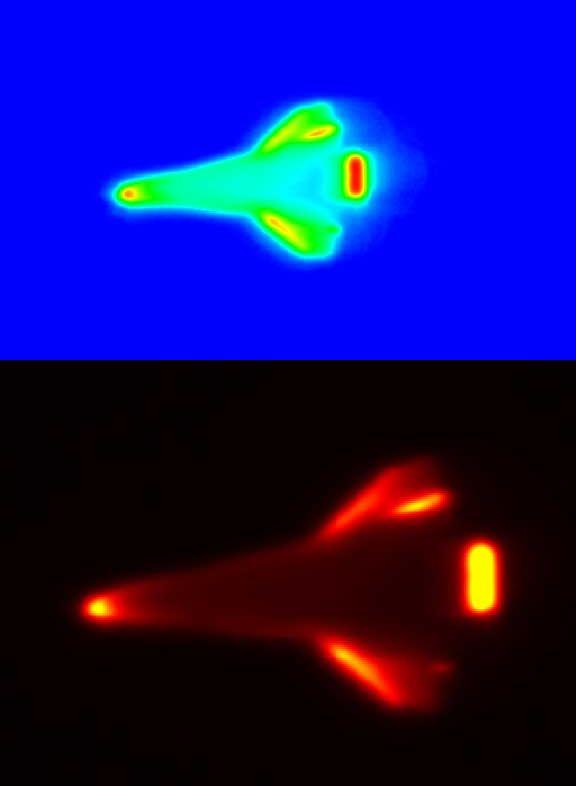 Thermal Imaging Captures a Hot Shuttle Landing