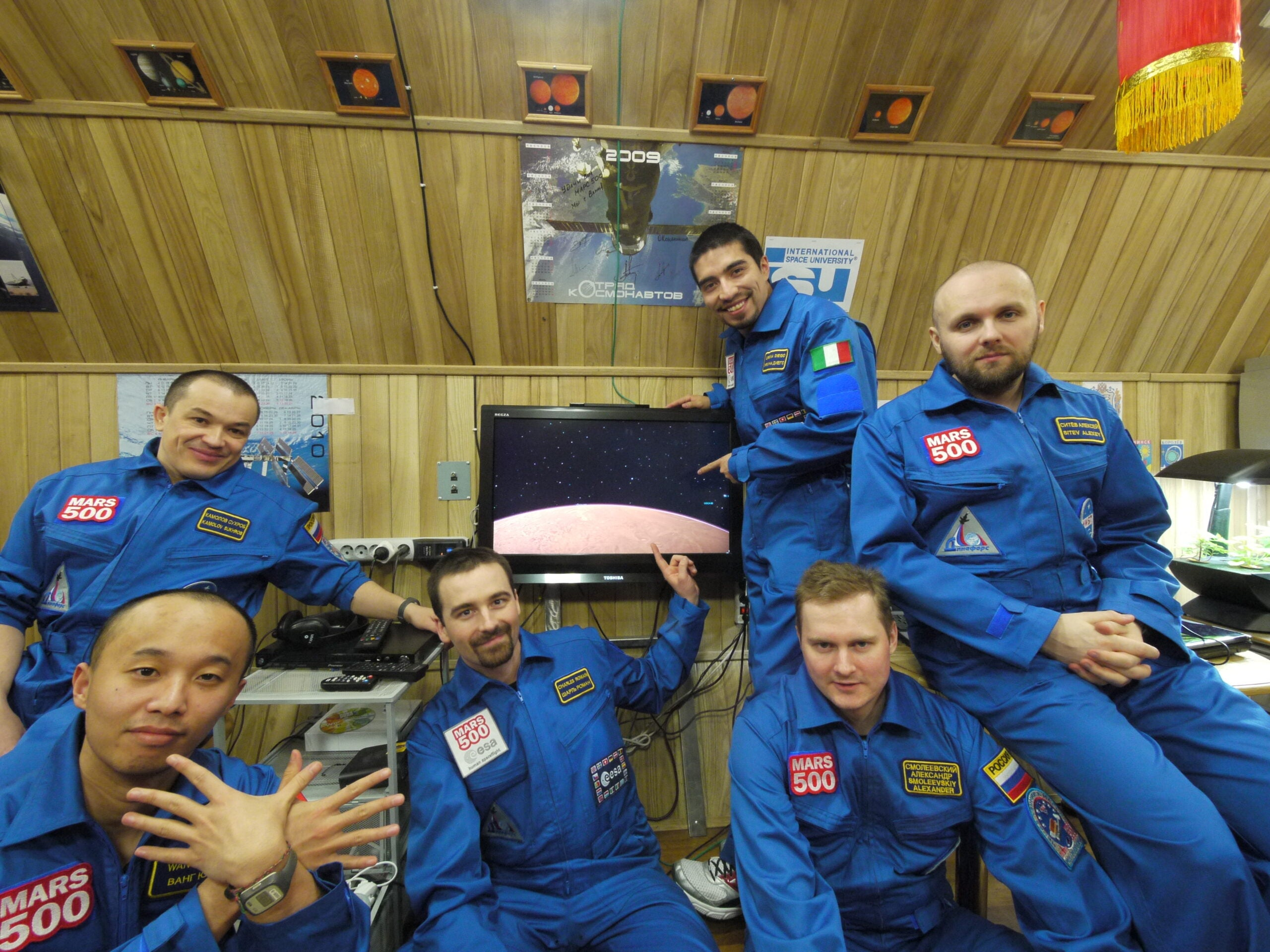 "Earth-Based Mars500 Crew Breaks Endurance Record For Longest ""Space"" Mission"