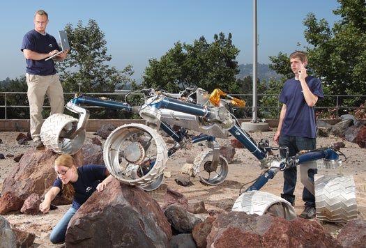 Build Your Own Spaceship at the Jet Propulsion Laboratory