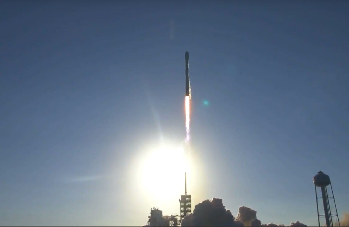 SpaceX just flew a used rocket for the first time—and stuck the landing, too