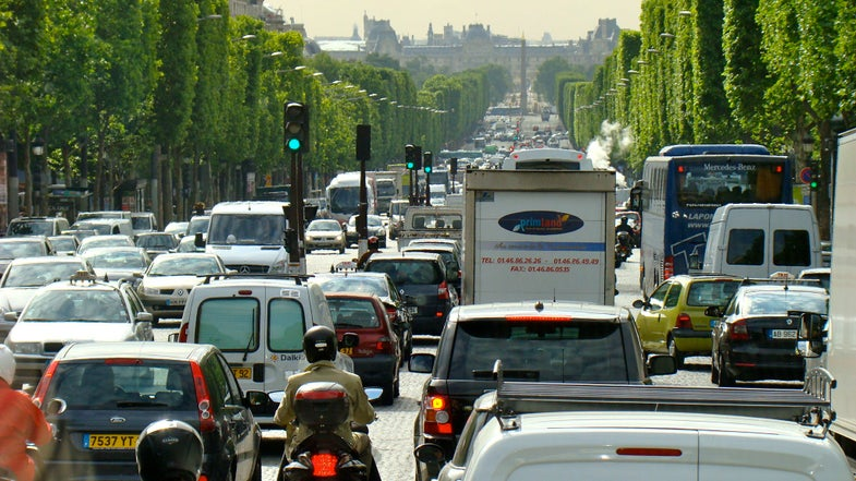 Older Cars Will Be Restricted In Paris Starting In July