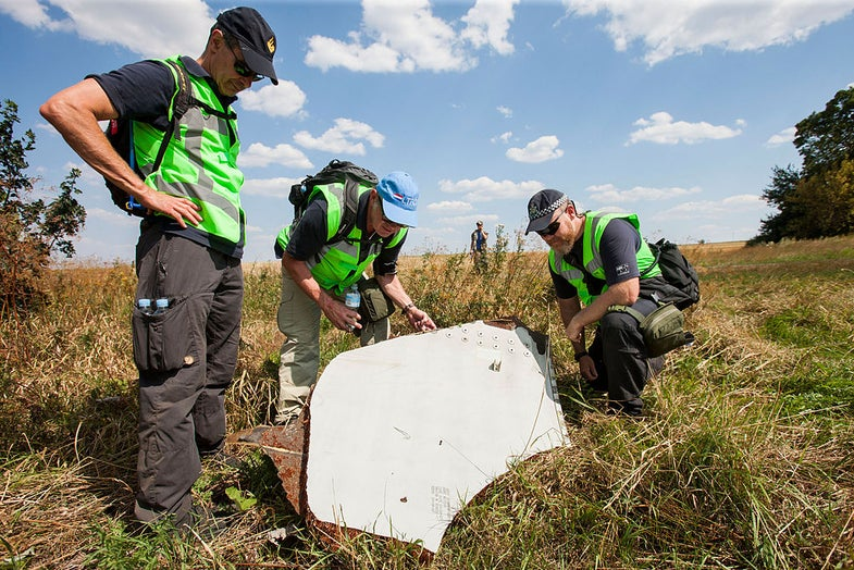 Flight MH-17 Investigation Points To An Attack