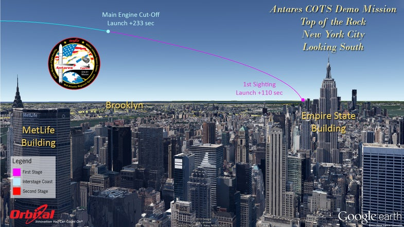 How To See Tomorrow's Historic Antares/Cygnus Launch To The Space Station