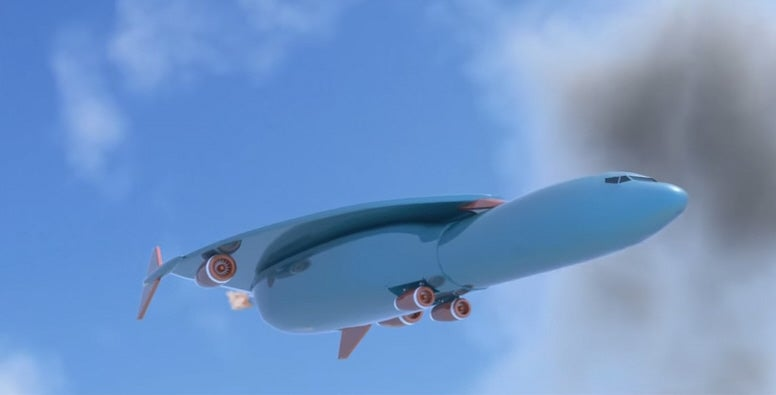 Patent Yogi Visualization Of Hypersonic Airbus