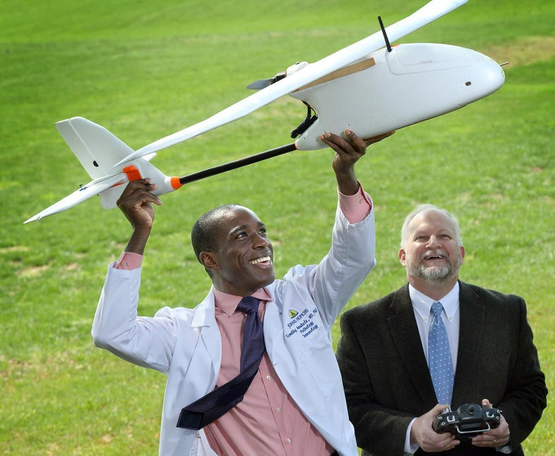Researchers Successfully Transport Blood By Drone