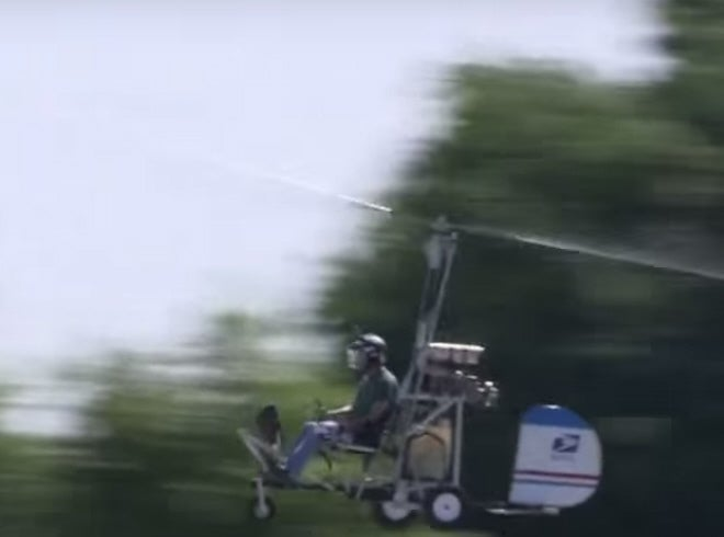 Donald Hughes Gyrocopter