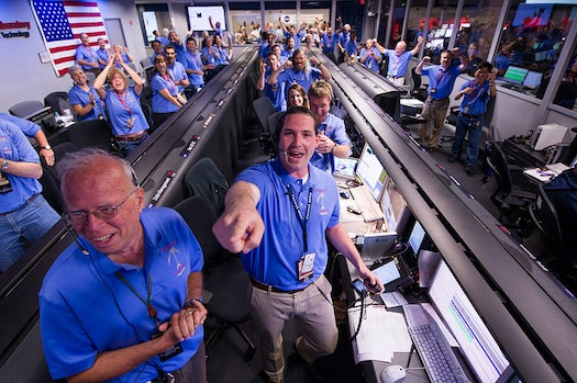 Amazing Photos From Mars Rover Curiosity's Viewing Parties