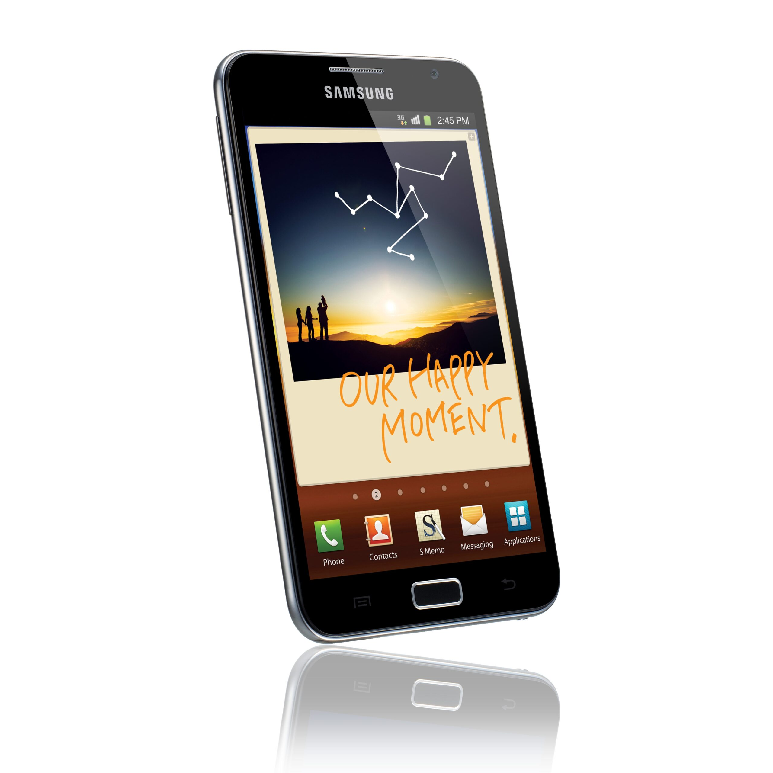 The Samsung Note, Half-Phone and Half-Tablet, Debuts in Berlin