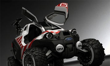 Gull-Wing Firefighting ATV Could Operate in the Middle of Inferno