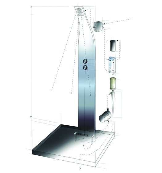 2012 Invention Awards: A Recirculating Shower