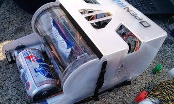Underwater Drone Delivers Beer [Video]