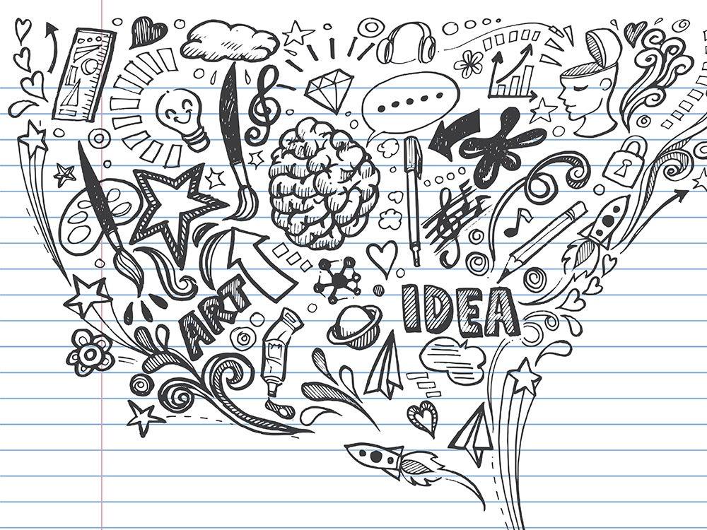 meeting doodles