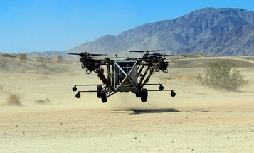 Transforming Helicopter-Truck Hybrid Makes First Flight
