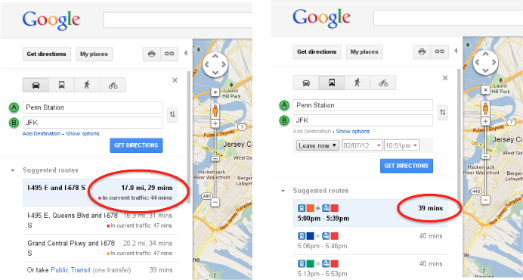 Google Maps Re-Launches Its Traffic Mapping, Incorporating Real-Time Data From Drivers With Phones