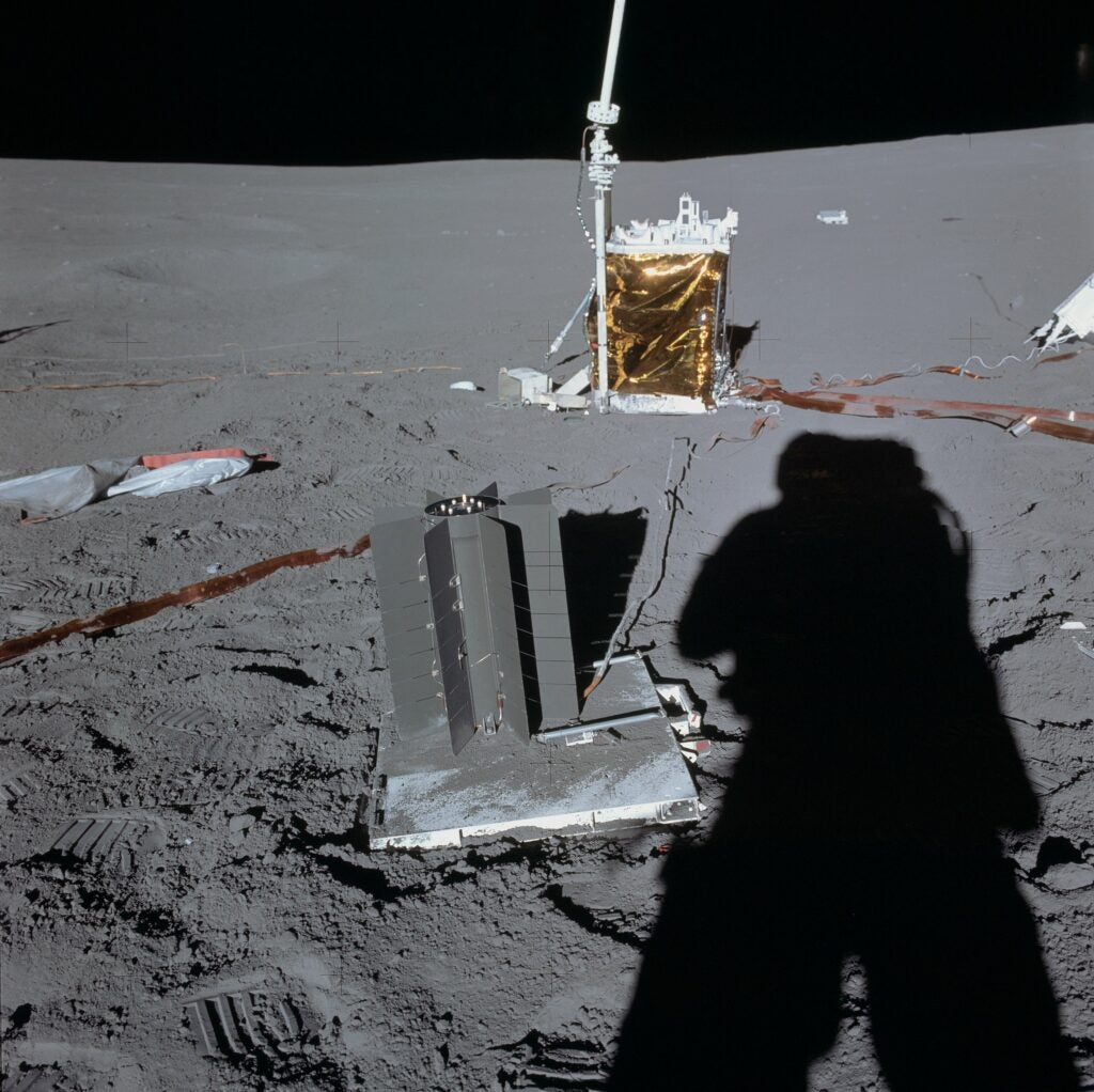 Apollo 14's ALSEP on the Moon