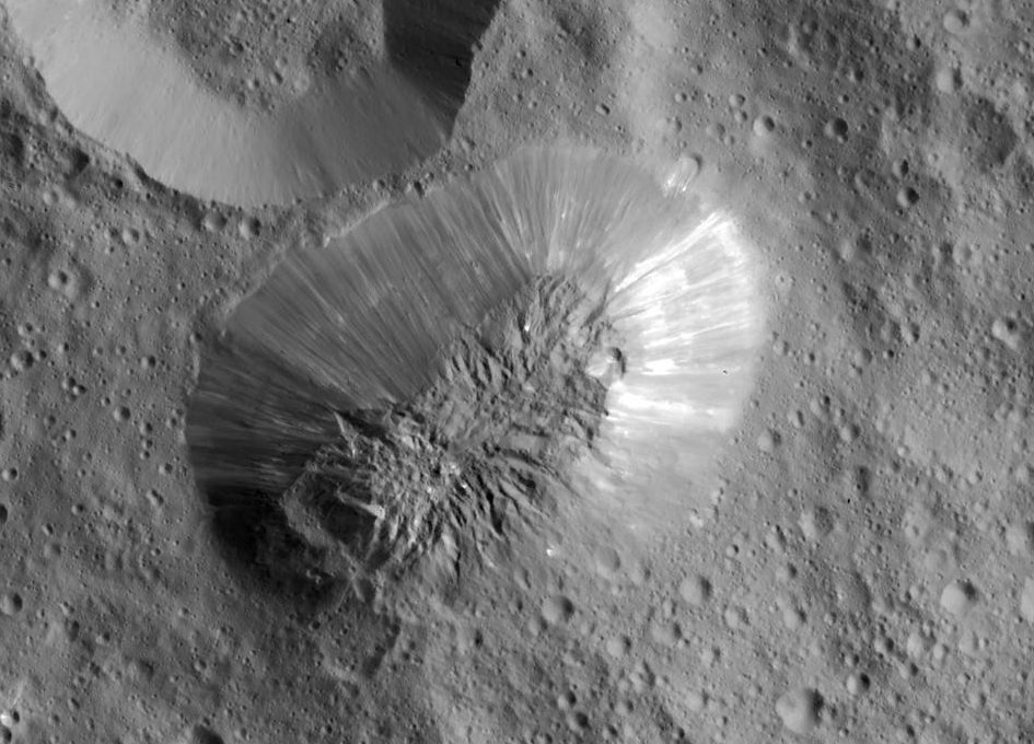 ceres ahuna mons