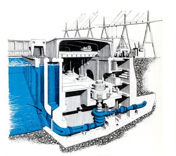 Edmonston pumping plant, pump