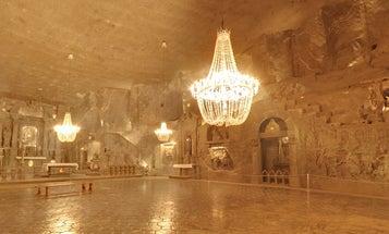 Visit A Stunning Salt Mine In Google Street View