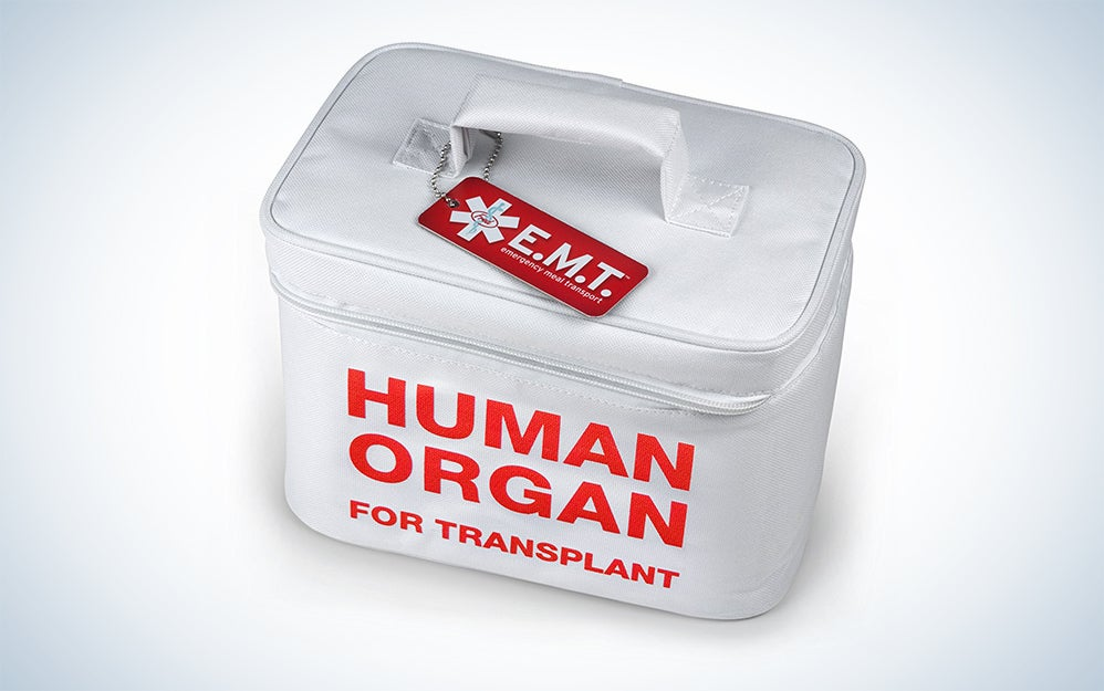 Human organ lunch bag