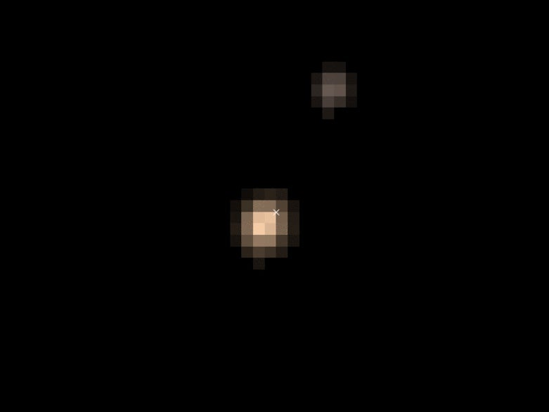 NASA's Latest Images Of Pluto Look Like An 8-Bit Videogame