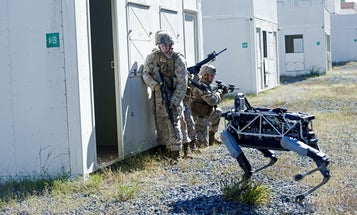 Marines Are Testing A Robot Dog For War